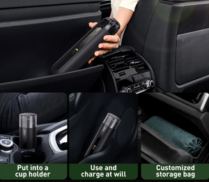 Portable Car Mini Wireless Vacuum Cleaner