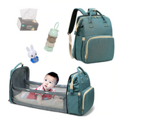 Load image into Gallery viewer, Baby Backpack Multifunctional Foldable Baby Bed