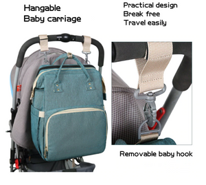 Baby Backpack Multifunctional Foldable Baby Bed