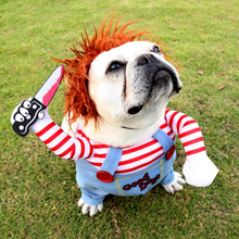 Load image into Gallery viewer, Chucky Dog Halloween Costume