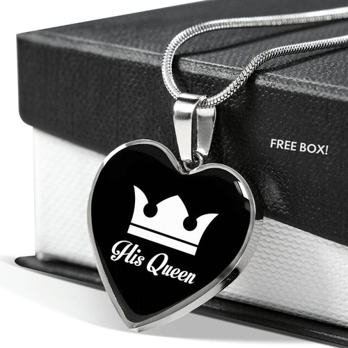 His Queen Love Necklace