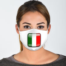 Load image into Gallery viewer, I Love Italy Face Mask