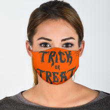 Load image into Gallery viewer, Face Mask Halloween Trick or Treat WH