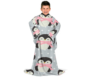 Cute Penguins Kids Snuglee Blankie