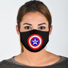 Load image into Gallery viewer, Captain America Hero Mask