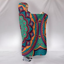 Load image into Gallery viewer, Yoga Mandala Hooded Blanket