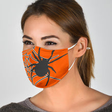 Load image into Gallery viewer, Face Mask Halloween Spider WH