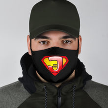 Load image into Gallery viewer, Super Jesus Face Mask