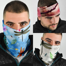 Load image into Gallery viewer, Dragonfly Face Covers and Headbands