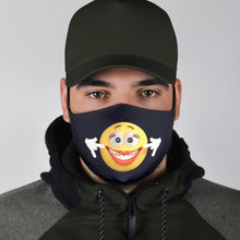 Load image into Gallery viewer, Miss Smiling Emoji Face Cover