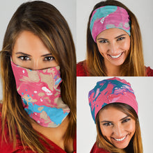 Load image into Gallery viewer, Marble Swirls Set 1 - Bandana 3 Pack