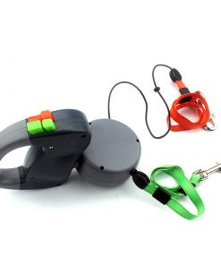 Extended Twin Dog leash
