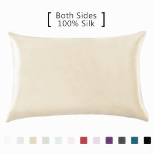 100% Pure Natural Mulberry Silk Pillowcase