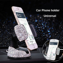 Load image into Gallery viewer, Crystal Car Phone Holder