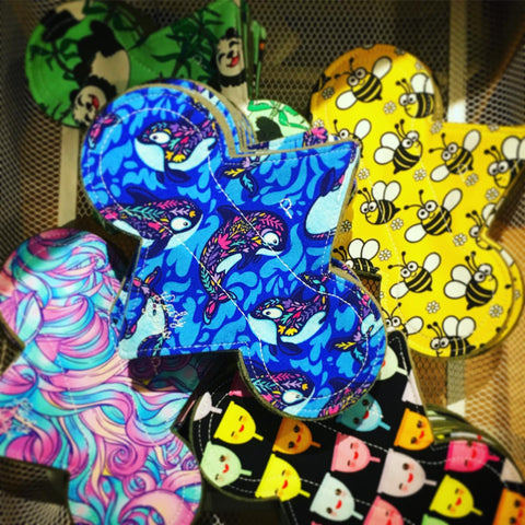LADY DAYS CLOTH PADS PILES OF CLOTH PADS PANTY LINERS