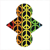 Custom Order - Rainbows Peace - Lady Days Cloth Pads