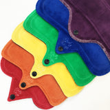 Rainbow Cloth Pad Starter Set - Lady Days Cloth Pads