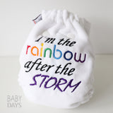 Newborn Rainbow Baby Cloth Nappy - Lady Days Cloth Pads