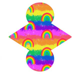 Custom Order - Double Rainbow - Lady Days Cloth Pads