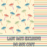 Summer Palms - Lady Days Cloth Pads