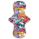 Custom Order - Comic Words - Lady Days Cloth Pads
