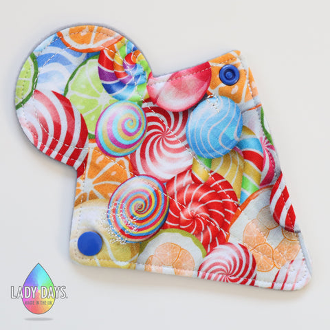 "7"" Thong Cloth Panty Liner - Lady Days Cloth Pads"