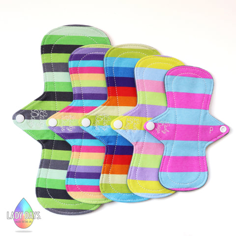 Lady Luscious Cloth Pad Set. - Lady Days Cloth Pads