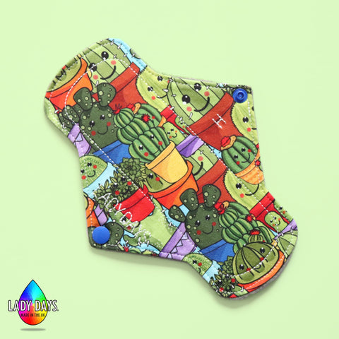"8"" Lady Days reusable cloth pad heavy absorbency"