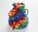 Crocheted Menstrual Cup Pouch - Lady Days Cloth Pads