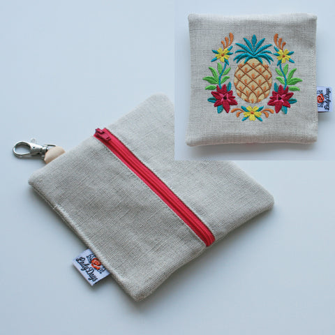 Special Embroidery Pad Pod - Pineapple