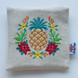 Special Embroidery Pad Pod - Pineapple - Lady Days Cloth Pads