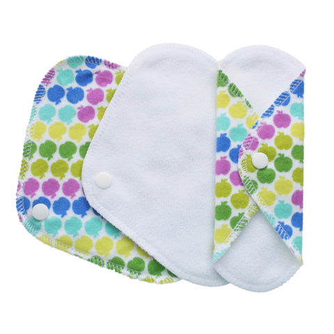Set of 3 Daily Liners - Lady Days Cloth Pads