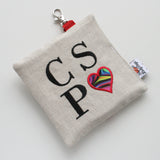 Special Embroidery Pad Pod - Love CSP - Lady Days Cloth Pads