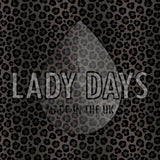 LADY DAYS REUSABLE CLOTH MENSTRUAL PAD CUSTOM MADE IN DARK LEOPARD PRINT