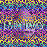 LADY DAYS CLOTH PADS PERIOD PANTS IN RAINBOW PEOPARD PRINT