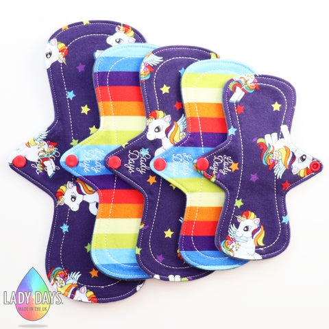 Lady Luscious Cloth Menstrual Pad Set. - Lady Days Cloth Pads