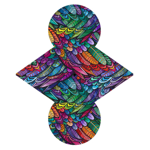 Custom Order -  Absract Feathers - Lady Days Cloth Pads