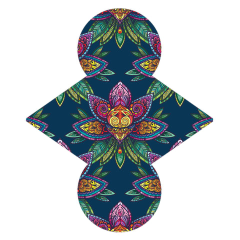 Custom Order - Absract Lotus - Lady Days Cloth Pads