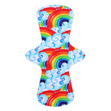 Custom Order - Diagonal Rainbow Clouds - Lady Days Cloth Pads