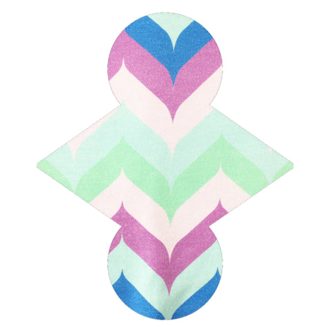 Custom Order - Feather Chevrons - Lady Days Cloth Pads