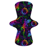 Custom Order - Rainbow Gecko - Lady Days Cloth Pads