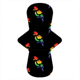Custom Order - Rainbow Parrot - Lady Days Cloth Pads