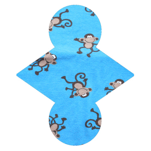Custom Order - Monkeys - Lady Days Cloth Pads