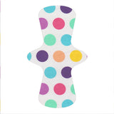 Custom Order - Pastel Rainbow Spots - Lady Days Cloth Pads