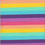 Custom Order - Pastel Rainbow Stripes - Lady Days Cloth Pads