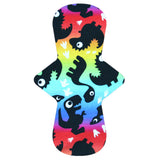 Custom Order - RAINBOWSAURUS - Lady Days Cloth Pads