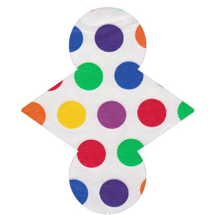 Custom Order - Rainbow Bright Spots - Lady Days Cloth Pads
