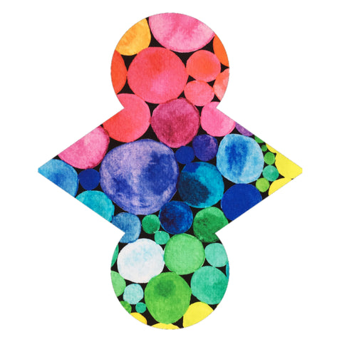 Custom Order - Rainbow Circles - Lady Days Cloth Pads