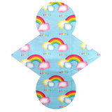 Custom Order - Rainbow Clouds - Lady Days Cloth Pads