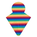 Custom Order - Yarn Dyed Rainbow Stripes - Lady Days Cloth Pads